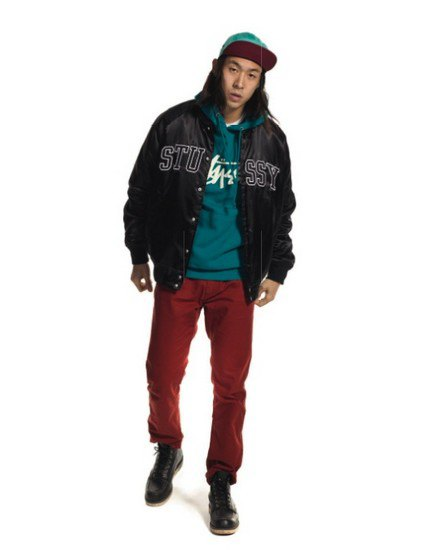 Марка Stussy выпустила осенний лукбук с участием рэпера A$AP Illz. Изображение № 7.