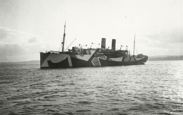 История камуфляжа Dazzle —от картин кубистов до военных крейсеров и принтов на одежде. Изображение № 11.