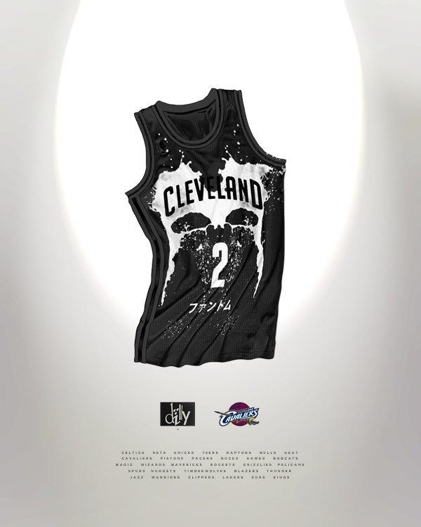 Канадский дизайнер представил, как бы выглядела форма NBA в исполнении культовых брендов. Изображение № 5.