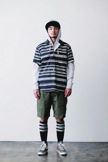 Марка Stussy опубликовала лукбук весенней коллекции одежды. Изображение № 8.
