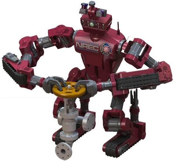 Компания DARPA изготовила гусеничного робота для Пентагона . Изображение № 1.