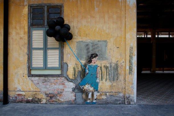 Граффити-художник из Литвы выпустил фильм об уличном искусстве в Малайзии. Изображение № 2.