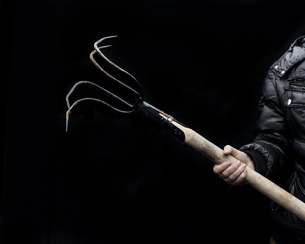 Фотопроект: Самодельное оружие украинской революции. Изображение № 17.