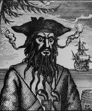 Эдвард Тич по прозвищу Черная Борода. Изображение № 2.