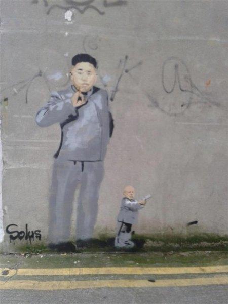 15 политических граффити из разных уголков мира. Изображение № 3.