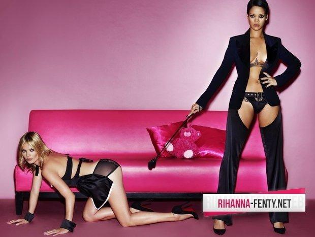 Рианна и Кейт Мосс снялись для американского журнала V Magazine. Изображение № 2.