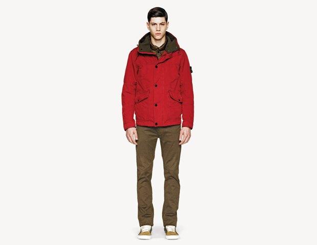 Марка Stone Island выпустила лукбук осенней коллекции одежды. Изображение № 19.