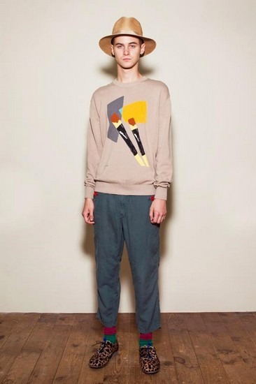 Марка Undercover опубликовала лукбук весенней коллекции одежды. Изображение № 11.