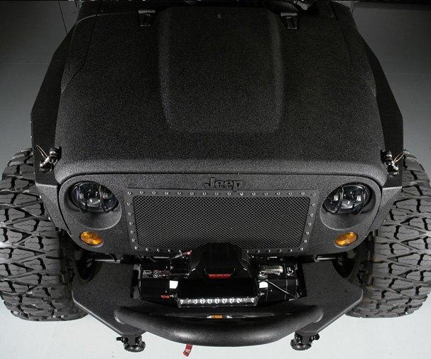Автомастерская Starwood Motors представила новый кастом на базе Jeep Wrangler. Изображение № 8.