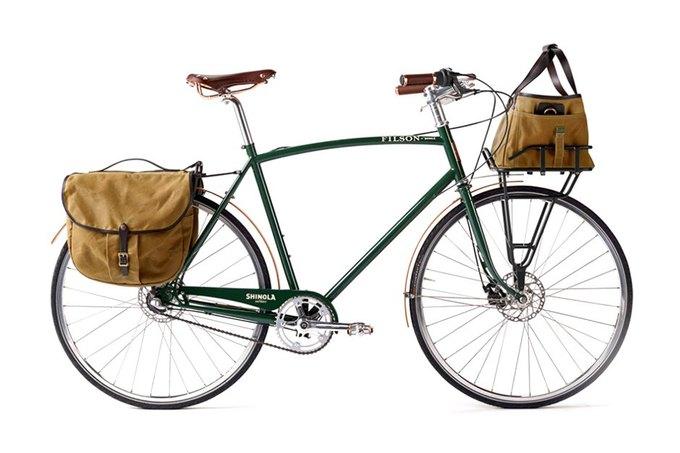 Фирмы Shinola Bixby и Filson Bicycle представили новый велосипед. Изображение № 1.