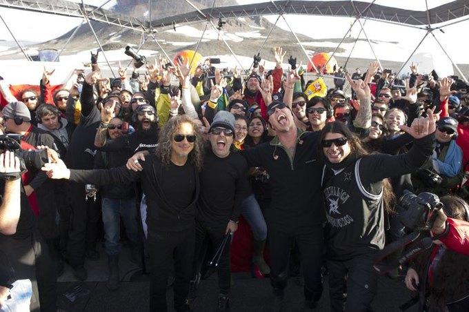 Metallica отыграла концерт в Антарктиде. Изображение № 4.