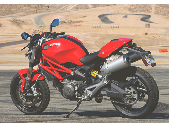 Ducati Monster/Supersport 400 — 1000. Изображение № 16.
