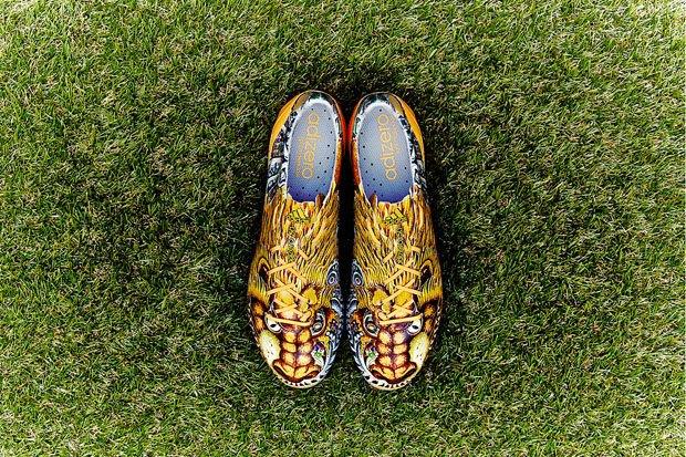 Едзи Ямамото и марка Аdidas анонсировали новую модель футбольных бутс. Изображение № 3.