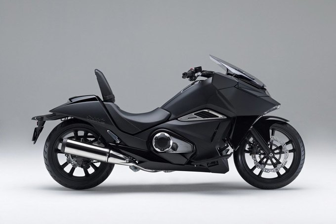 Honda представила два футуристических мотоцикла . Изображение № 3.