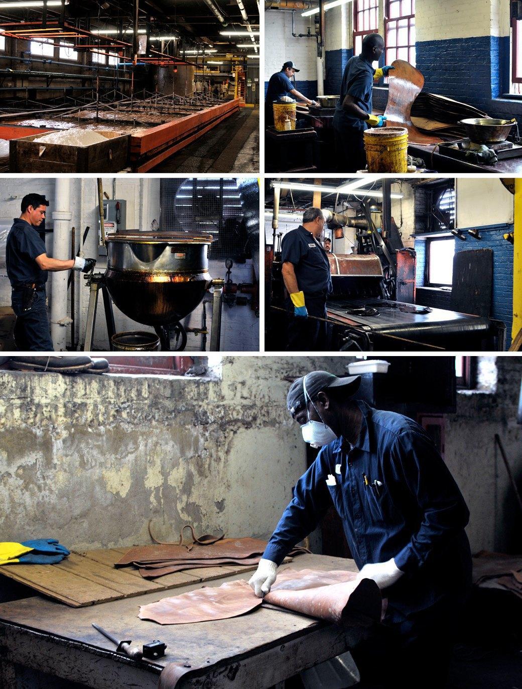 10 репортажей с фабрик одежды и обуви: Alden, Barbour и другие изнутри. Изображение № 16.
