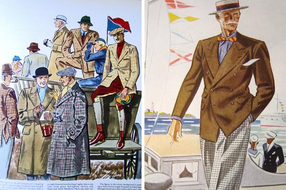 Иллюстрации из журнала Esquire, 1930-е. Изображение № 18.