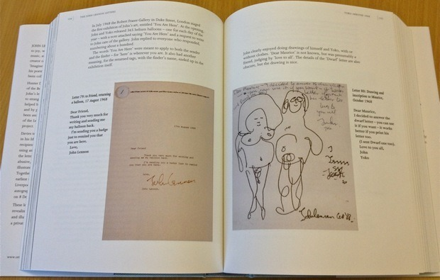 Письма Джона Леннона выпустят в виде приложения для iPad. Изображение № 1.