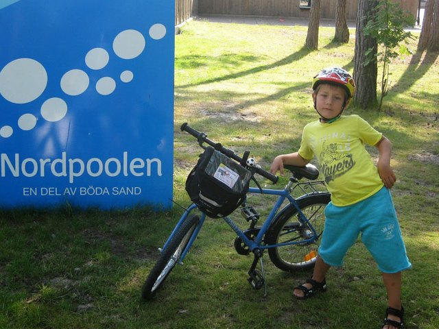 7-летний велосипедист доехал из Швеции до Германии. Изображение № 2.