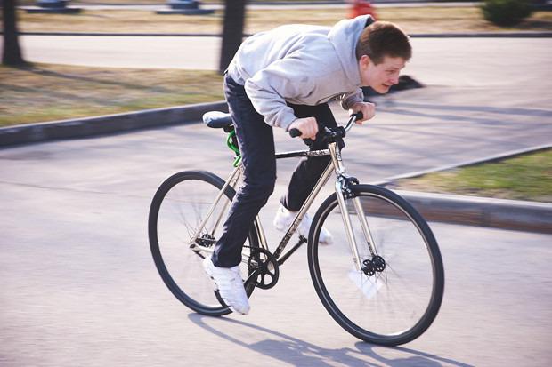 Детали: Фоторепортаж с открытия велосезона Fixed Gear Moscow. Изображение №46.