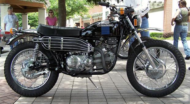 История и стилевые особенности эндуро и скрэмблеров — мотоциклов для езды по бездорожью. Изображение №8.