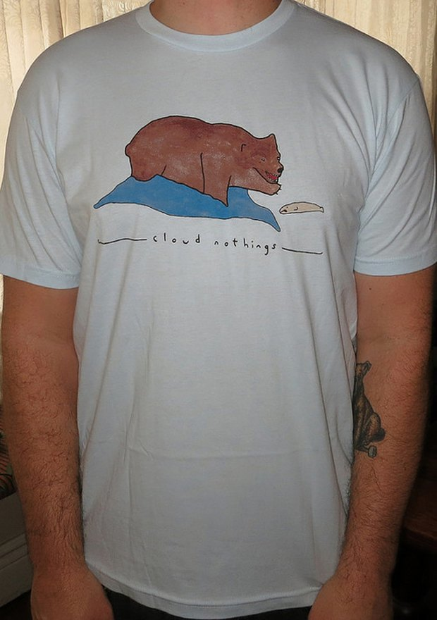 Minor Thread: Тысячедневный марафон футболок с логотипами музыкантов. Изображение № 21.