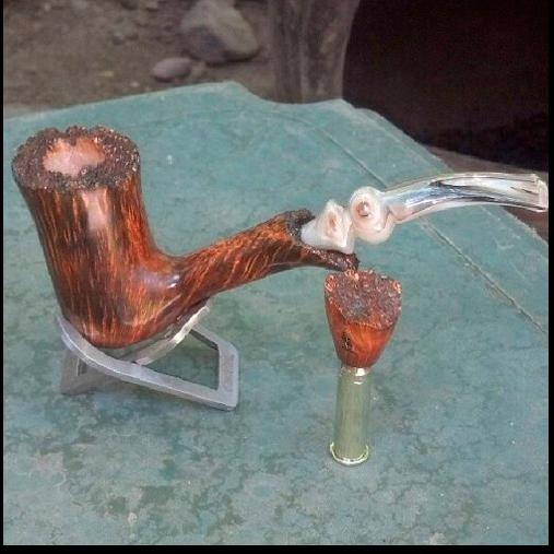 Ручная работа: Курительная трубка Чака Лонга. Изображение № 1.