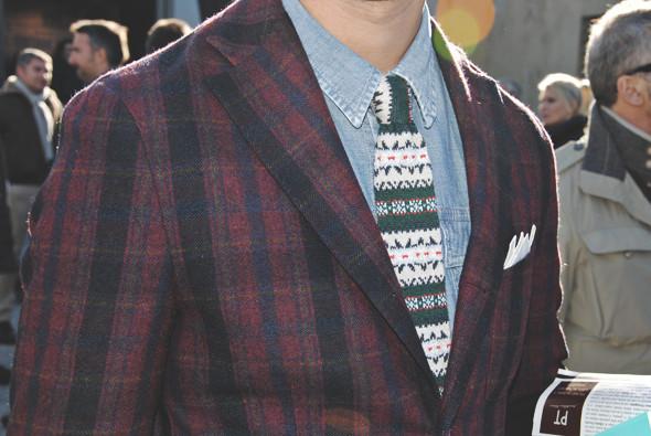 Детали: Репортаж с выставки мужской одежды Pitti Uomo. День первый. Изображение № 4.
