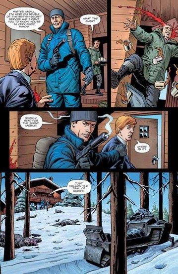 Режиссер «Пипца» экранизирует еще один комикс Марка Миллара «Тайная служба». Изображение № 7.