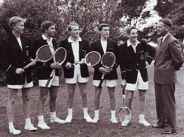 Теннисная команда, 1960-е. Изображение №44.