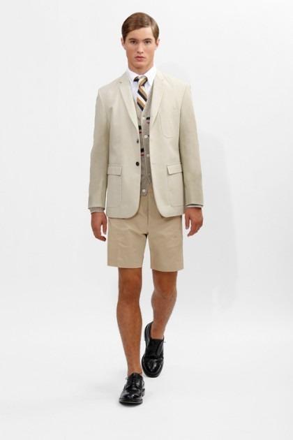 Марка Brooks Brothers представила новую коллекцию одежды линейки Black Fleece . Изображение № 10.