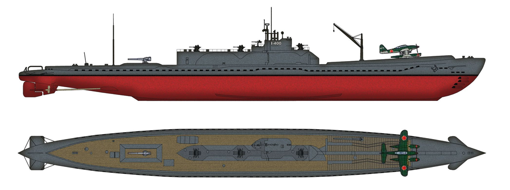 Подводный авианосец I-400: История японского супероружия Второй мировой войны. Изображение № 6.