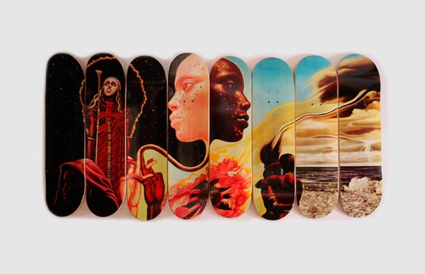 Коллекция дек для скейтбординга с принтом обложки альбома «Bitches Brew» Майлза Дэвиса. Изображение № 1.
