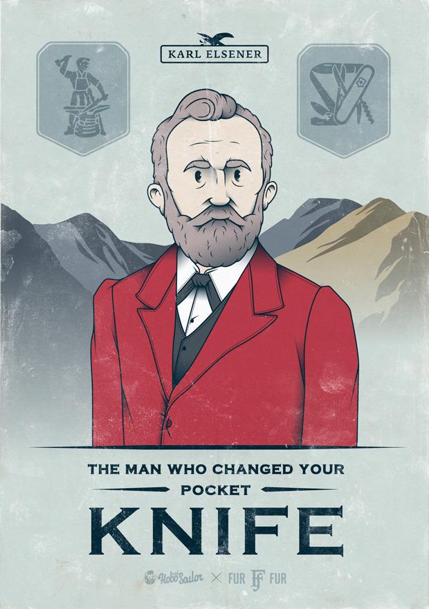 Карл Эльзенер: Портрет создателя швейцарского ножа. Изображение № 1.