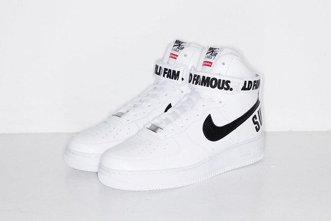 Марки Supreme и Nike выпустили совместную коллекцию кроссовок. Изображение № 4.