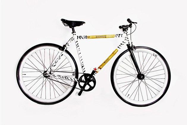 Компания Panda вместе со студией Akomplice представила новый велосипед. Изображение № 1.