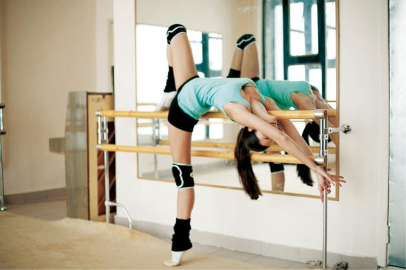 Классические формы: Танцовщица. Изображение № 7.