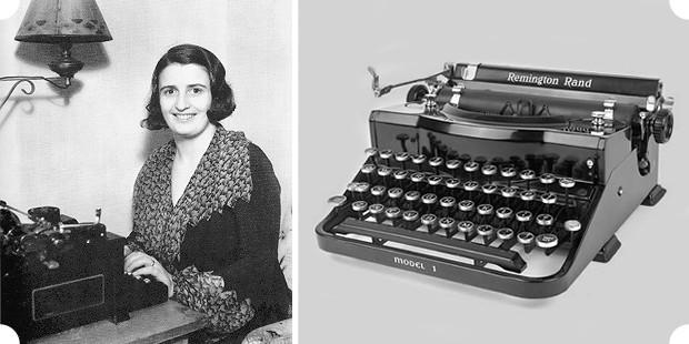 Что появилось раньше — печатная машинка «Remington Rand» или псевдоним Айн Рэнд долгое время являлось предметом споров. Изображение № 22.