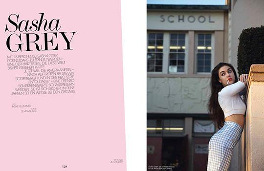 Саша Грей снялась для нового номера немецкого Interview. Изображение №3.