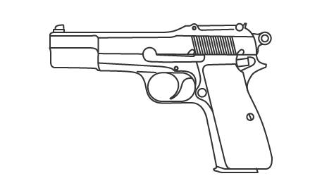 Пистолет кольт в истории американской армии, кино и масс-медиа. Изображение № 9.