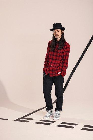 Марка Adidas Originals Blue Collection опубликовала осенний лукбук. Изображение № 8.