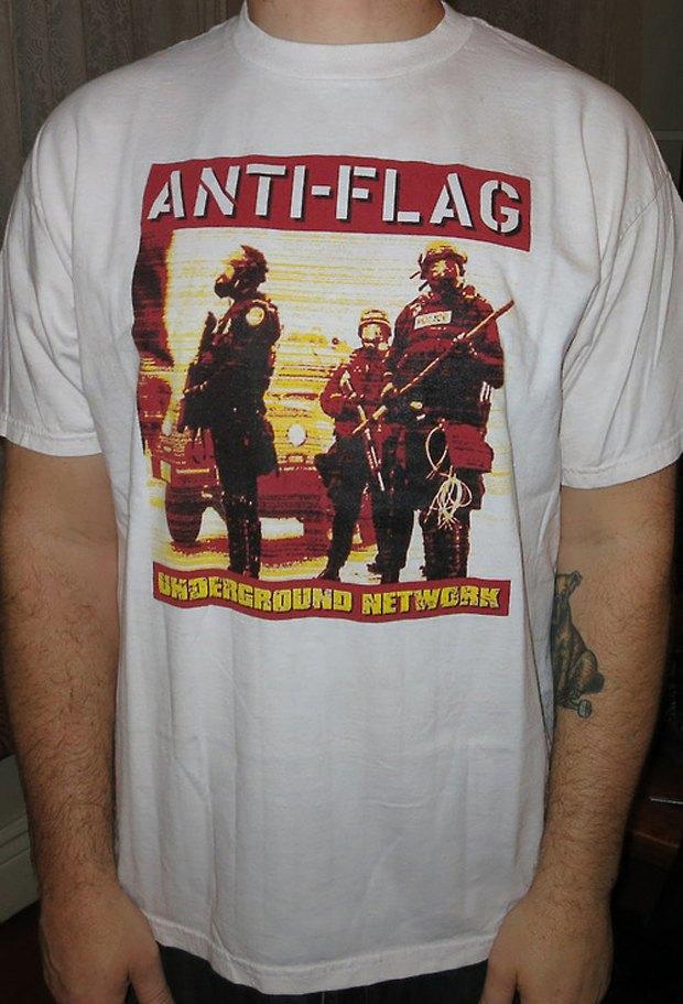 Minor Thread: Тысячедневный марафон футболок с логотипами музыкантов. Изображение № 16.