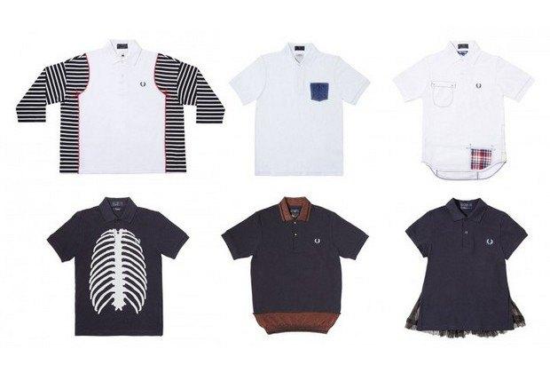 Марка Fred Perry и магазин Dover Street Market представили совместную коллекцию рубашек поло. Изображение № 7.
