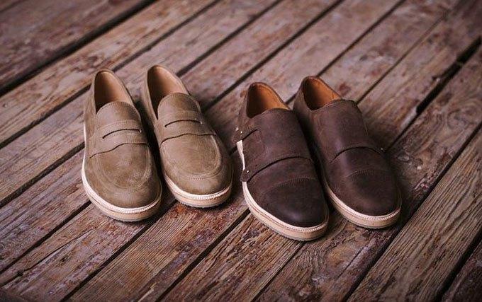 Новая марка: Мужские кожаные ботинки «Циркуль». Изображение № 3.