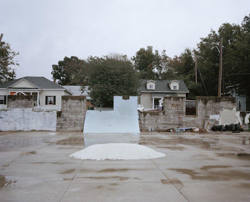 Фотопроект: Увядающая культура самодельных скейт-парков. Изображение № 11.