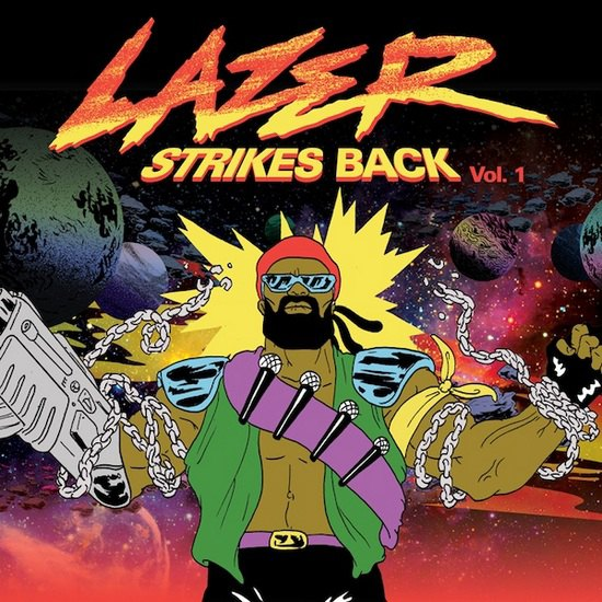 Major Lazer выпустили микстейп «Lazer Strikes Back Vol. 1». Изображение № 1.