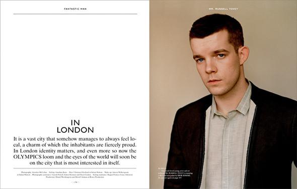 Изображение 7. Men's Digest: обложка Fantastic Man, блог Free/Man о мужских браслетах, распродажа Code7.. Изображение № 7.