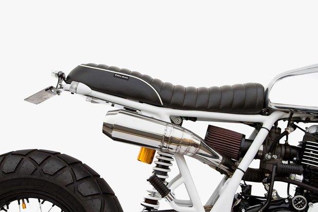 Мастерская Deus Ex Machina представила кастом на базе Yamaha SR400 . Изображение № 4.