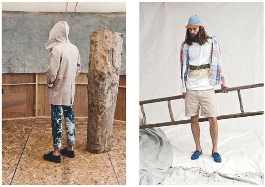 Французская марка Hixsept выпустила лукбук весенней коллекции одежды. Изображение № 10.