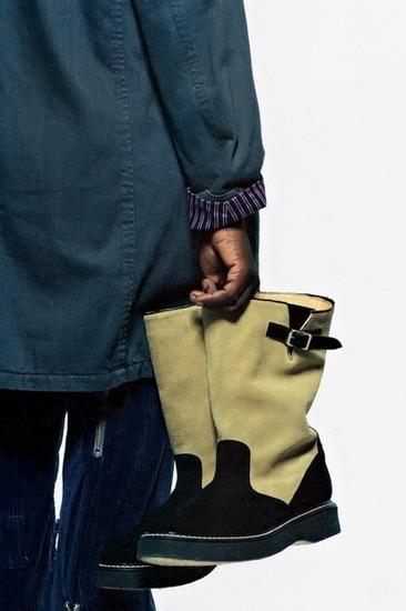 Марка Neighborhood опубликовала лукбук осенней коллекции одежды своей линейки Luker. Изображение № 5.