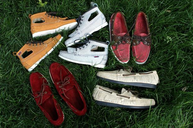 Дизайнер Ронни Фиг и марка Sebago выпустили капсульную коллекцию обуви. Изображение № 14.